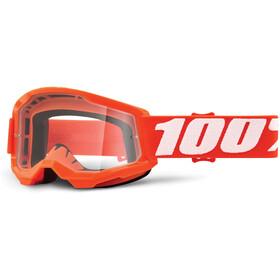 100% Strata Anti-Fog Goggles Gen2 Youth, orange/clear